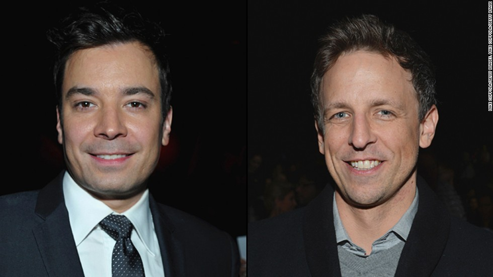 "<strong>Jimmy Fallon and Seth Meyers take over NBC's late-night franchises</strong>: When the Olympics are over and Jay Leno has returned to his garage, NBC's late-night shows will get a makeover. Jimmy Fallon, who has become<a href=""http://www.cnn.com/2013/04/03/opinion/bark-leno-fallon/""> a shrewd purveyor of viral video</a>, will assume the ""Tonight"" reins, and former ""Saturday Night Live"" writer and performer Seth Meyers takes over at ""Late Night."" Fallon is a known quantity, but what Meyers will bring to David Letterman and Conan O'Brien's former haunt should make for interesting television. (<em>February 24</em>)<br />"