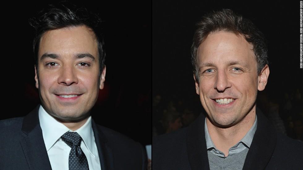 Jimmy Fallon y Seth Mayers toman el mando de las franquicias de NBC