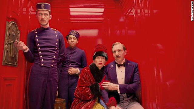 "Wes Anderson is taking his vision of ""The Grand Budapest"" hotel to sea aboard the ""Queen Mary 2."" Space is precious."