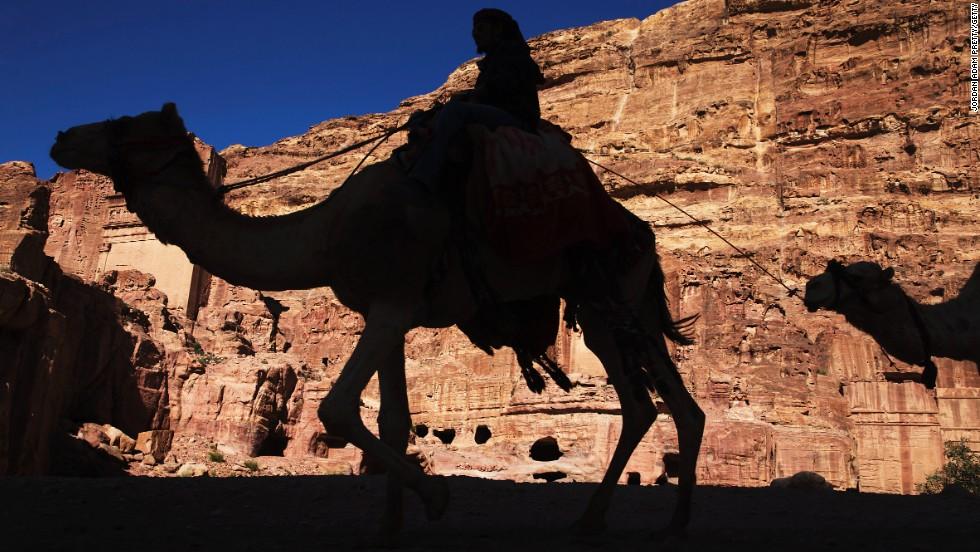Travesía en camello en Jordania