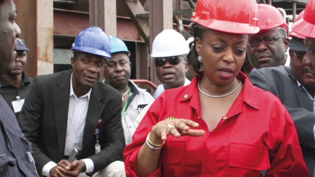 Alison-Madueke: 'Born into the oil sector'