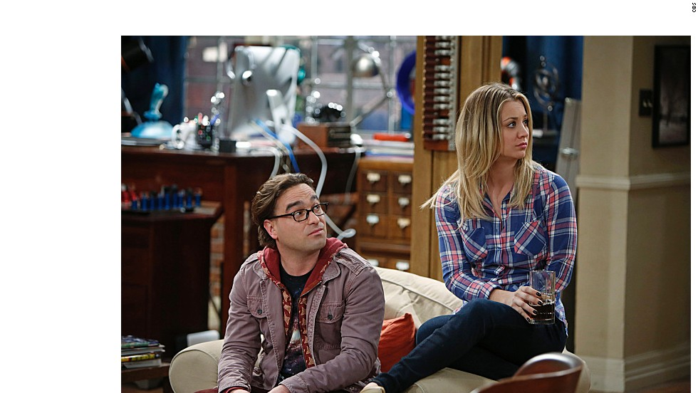 "Johnny Galecki y la recién casada ​​Kaley Cuoco interpretan a Leonard y Penny en ""The Big Bang Theory."" Estos son algunos personajes de la serie:"