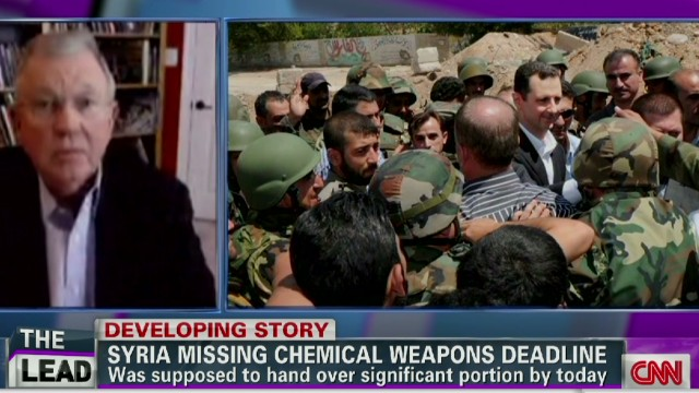 Syria misses chemical weapons deadline