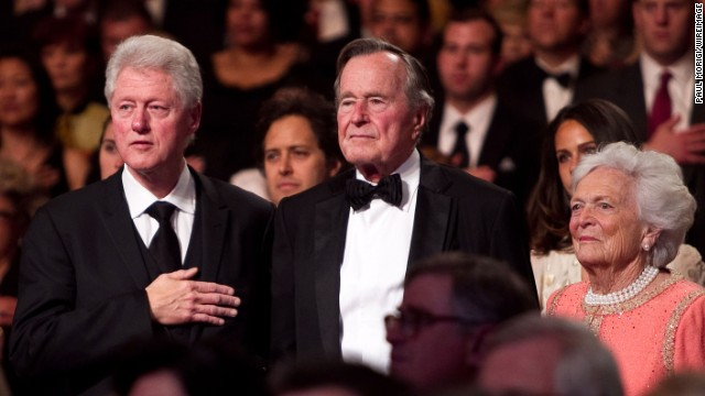 Barbara Bush: I love Bill Clinton