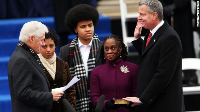 NYC mayor calls for progressive era
