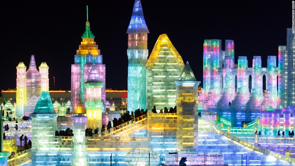 No wonder Harbin is one of China's top winter destinations.