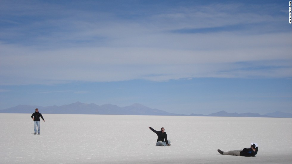 Developing countries want to preserve their attractions while opening them to tourism. Bolivia's extraordinary Great Salt Desert is an example.