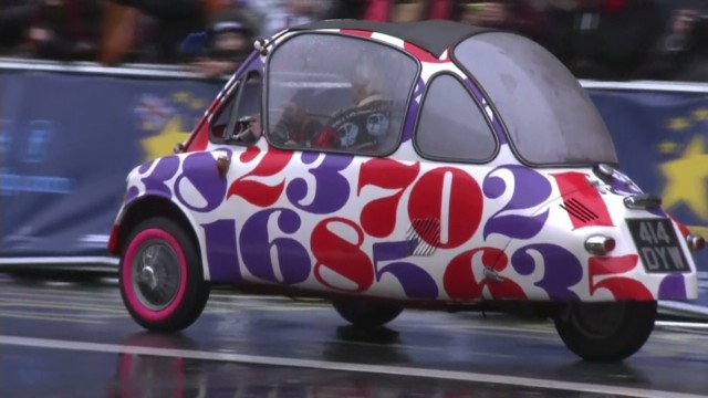 London's grooviest New Year's Day Parade