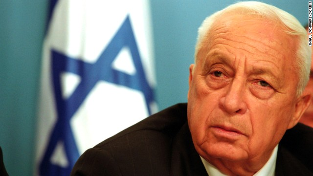 "29 Mar 2002, Jerusalem, Israel --- Israeli Prime Minister Ariel Sharon appears before the media at his office in Jerusalem to announce a widespread army operation against what he called Palestinian terrorism. Sharon said that Israel now considers Arafat an enemy and that he will be completely isolated ""at this stage.'' Sharon added ""I want to tell you that already, at this moment, Israel Defencs Force (IDF) forces are in Arafat's headquarters, the center of Arafat's control in Ramallah."" --- Photo by Shaul Schwarz/Corbis Sygma ---"