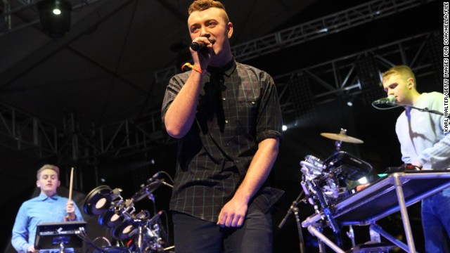 "Sam Smith's debut album, ""In the Lonely Hour,"" dropped on June 17."