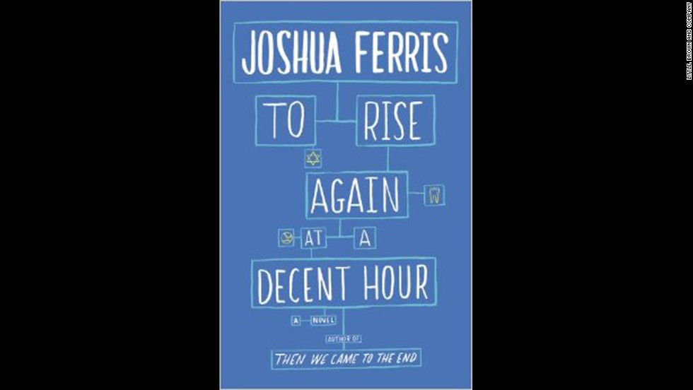 "Joshua Ferris is the latest author to lay out his fictional observation on the way we live now with this spring's ""To Rise Again at a Decent Hour."" When Paul O'Rourke -- a ""Luddite"" with an iPhone addiction -- discovers that he's being impersonated online, it's not exactly his privacy that he's worried about. No, in Ferris' take on the modern world, he hits at the heart of the bifurcation between our digital and analog selves with the question: What if the fake Paul cropping up across Facebook and Twitter is better than the real thing?(<em>May 6</em>)"