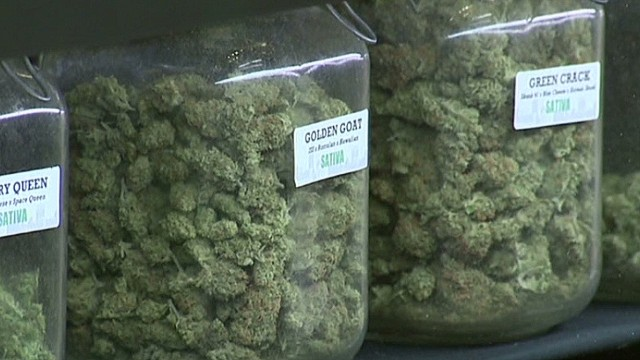 Colorado pot buyers getting sticker shock