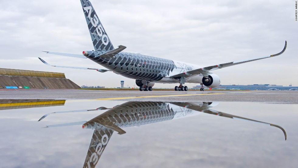 The test plane will begin 'early long flights' with passengers later this year. The company says it will deliver the first of its new planes to its inaugural customer by the end of 2014.
