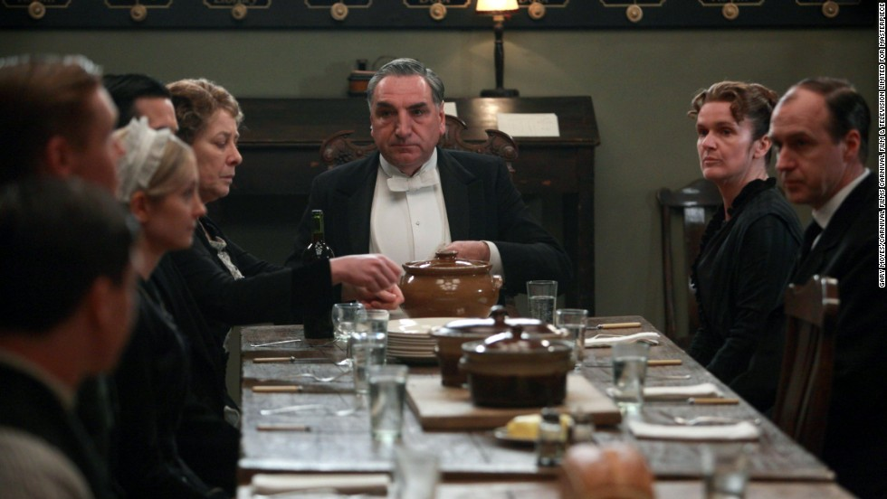 Mr. Carson must help the downstairs staff adjust to the constant changes being implemented around Downton.
