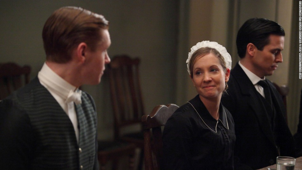 Anna (Joanne Froggatt) worked to get Bates out of prison, then faced serious criminal charges of her own in Season 5.