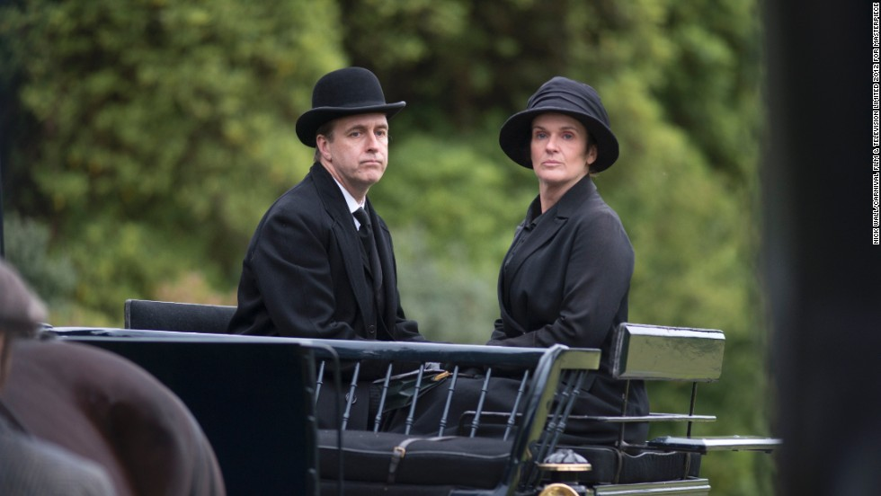 The bumbling Molesley (Kevin Doyle) earned some respect with his unexpected resourcefulness late in Season 5. O'Brien (Siobhan Finneran), the conniving ladies' maid, has left the show.