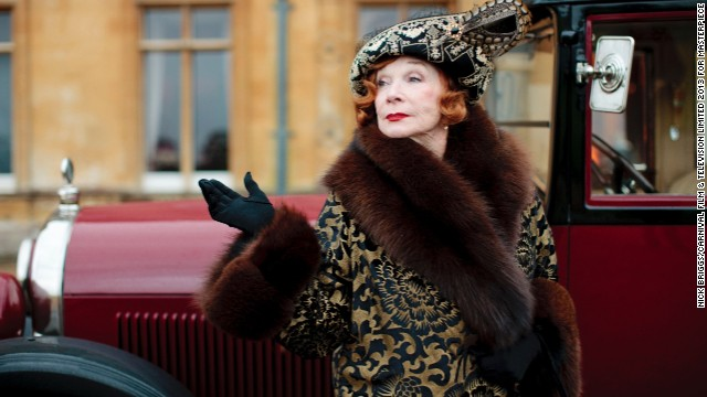 Shirley MacLaine as Martha Levinson in Downtown Abbey.