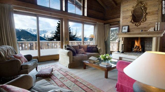 7 of Europe's most luxurious ski chalets