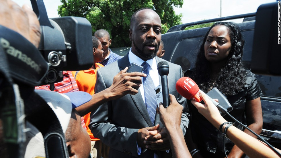 Hip-hop icon Wyclef Jean filed the paperwork to run for the president of Haiti, but was denied.