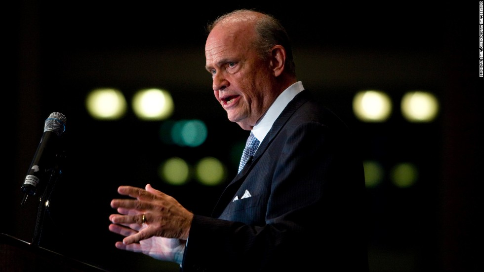 "Actor Fred Thompson, known for his stint on ""Law & Order,"" served as U.S. senator for Tennessee from 1994 to 2003. He made an unsuccessful bid for the presidency in 2008."