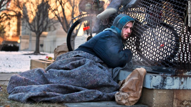 How deep freeze affects the homeless