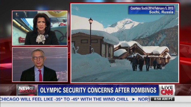 Olympic security concerns after bombings