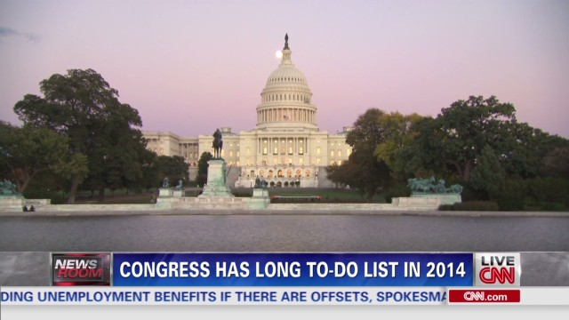 Congress to-do list, unemployment benefits