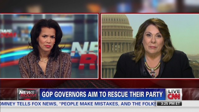 GOP governors want to reclaim party