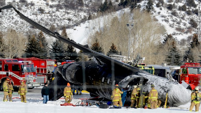 Aspen plane crash kills co-pilot
