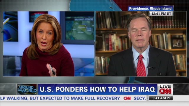 How will U.S. help Iraq fight al Qaeda?