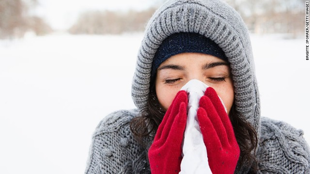 Differences between colds and the flu