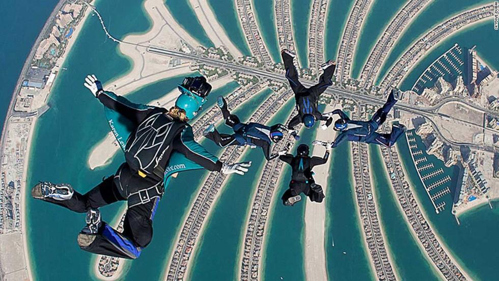 Paracaidismo en Dubái