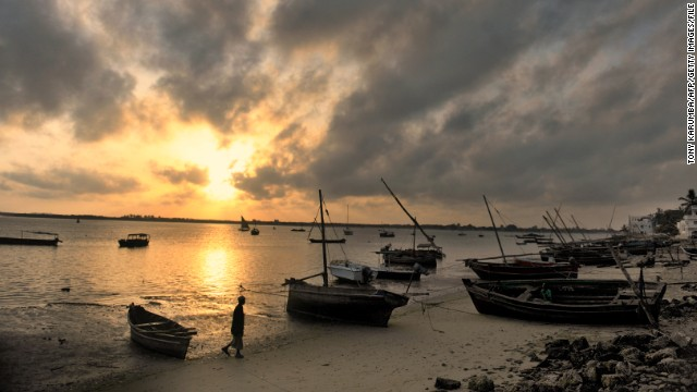 The coastal region of Kenya is popular among tourists from all over the world.
