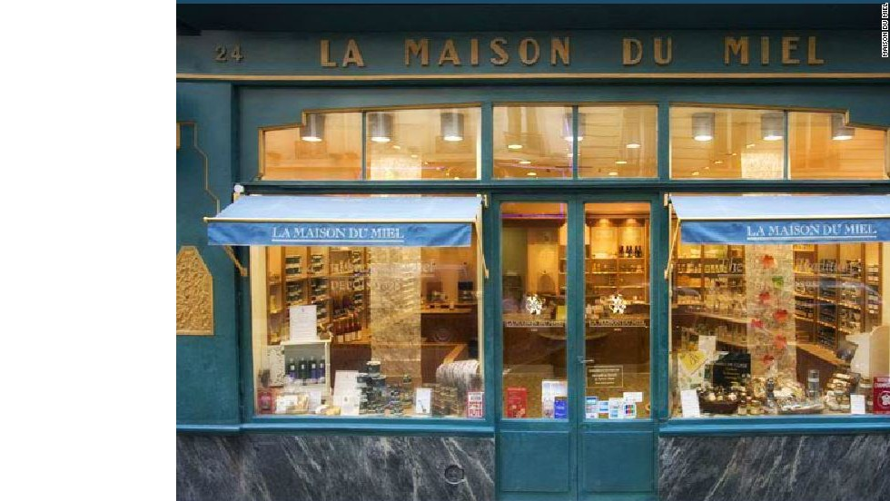 Spooning out the goods since 1905, Maison du Miel is the queen bee of Parisian honey vendors.