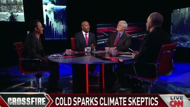Cold sparks climate skeptics