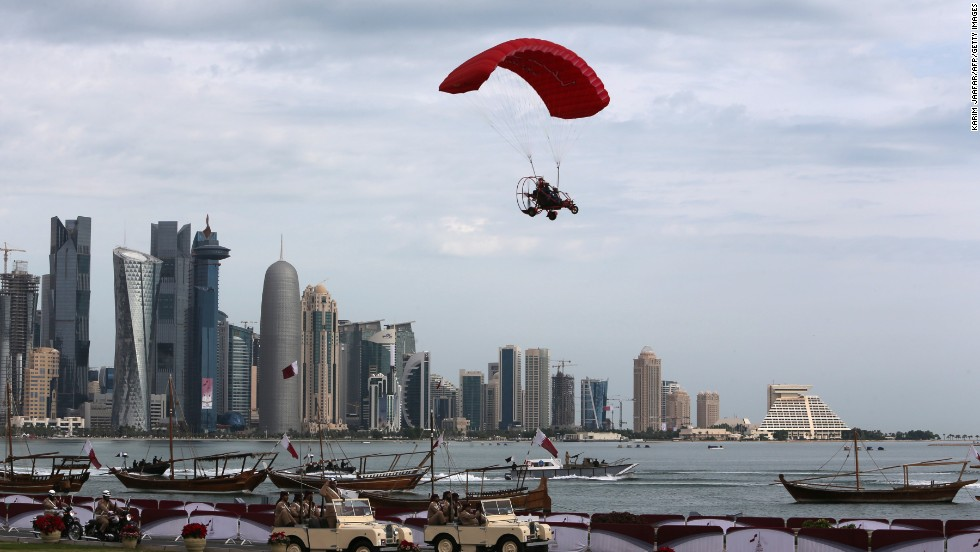 Parapente en Doha