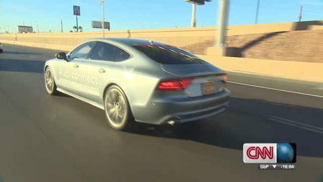 'Driverless car' at CES