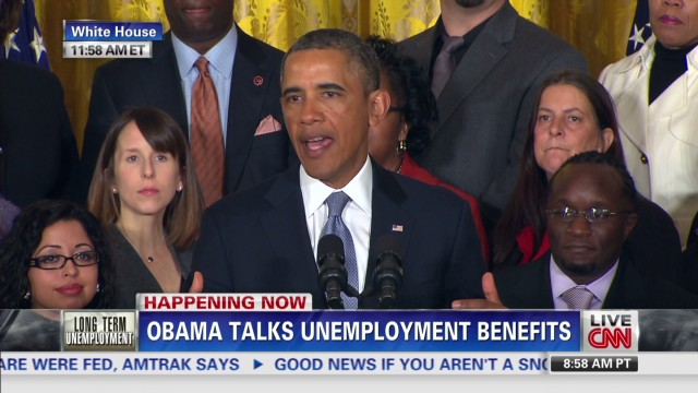 Obama: Jobless 'desperately want work'