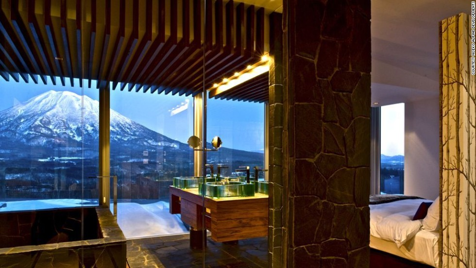 Enjoy immediate access to prime Niseko powder and private onsens (hot springs) when you stay at the Vale Niseko's penthouse.