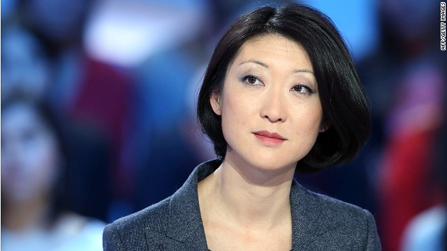 """FILE CAPTION: French Junior Minister in charge of small and medium enterprises and the digital economy Fleur Pellerin attends a discussion on television programme Grand Journal on Canal Plus concerning """"Koh-Lanta, """" the French version of the hit reality TV show """"Survivor, """" in Paris on April 2, 2013. Video filming of Koh-Lanta, which is set in Cambodia, was filed to the police today as they conducted an investigation following the death by suicide of physician and Koh-Lanta candidate Thierry Costa, according to the Costa's family lawyer. AFP PHOTO/THOMAS SAMSONTHOMAS SAMSON/AFP/Getty Images"""