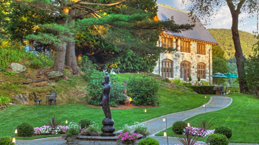 This English Cotswold-style estate nestled amid Vermont's Green Mountains was once the home of Allen Miller Fletcher, who, among other accomplishments, served as governor of Vermont from 1912 to 1915.