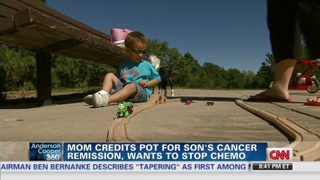Mom: Medical marijuana saved my ill son