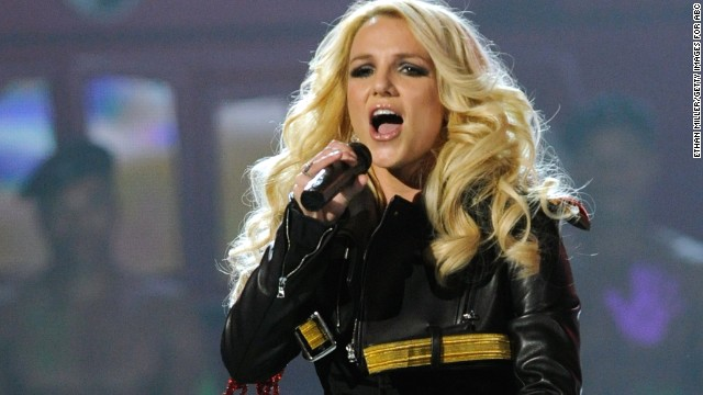 Singer Britney Spears performs during the 2011 Billboard Music Awards in Las Vegas.