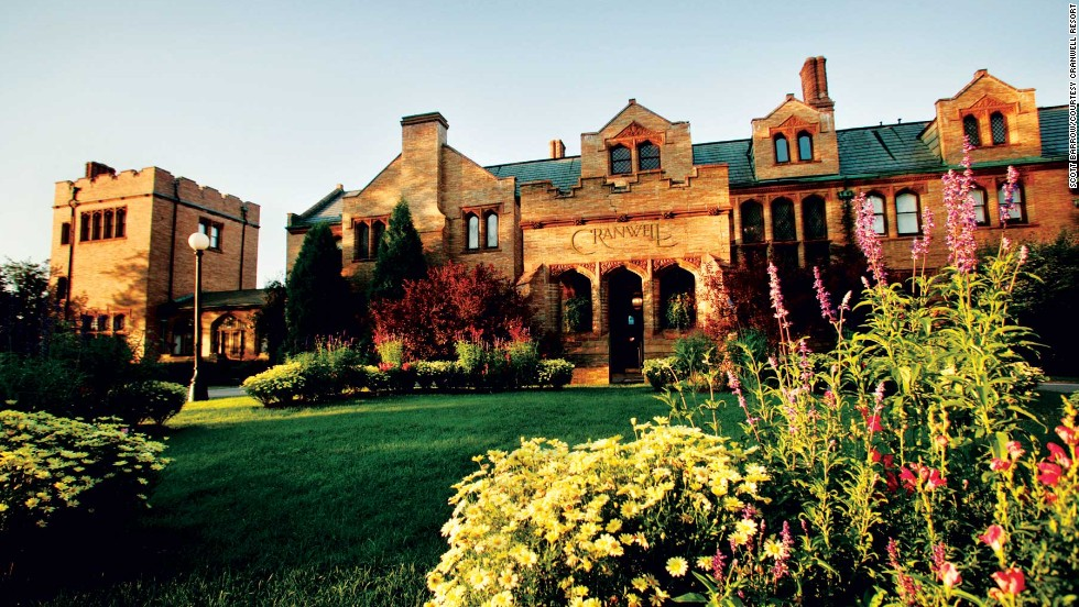 Cranwell Resort in Lenox, Massachusetts, was once home to John W. Sloane, a relative of the Vanderbilts and owner of the furnishings house W. & J. Sloane.