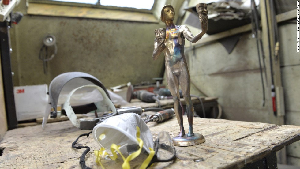 The SAG Awards union does not know exactly how many of the statuettes it will need until the presenters open the envelopes on January 18. Surplus trophies will find a home in the union's vault until next year.