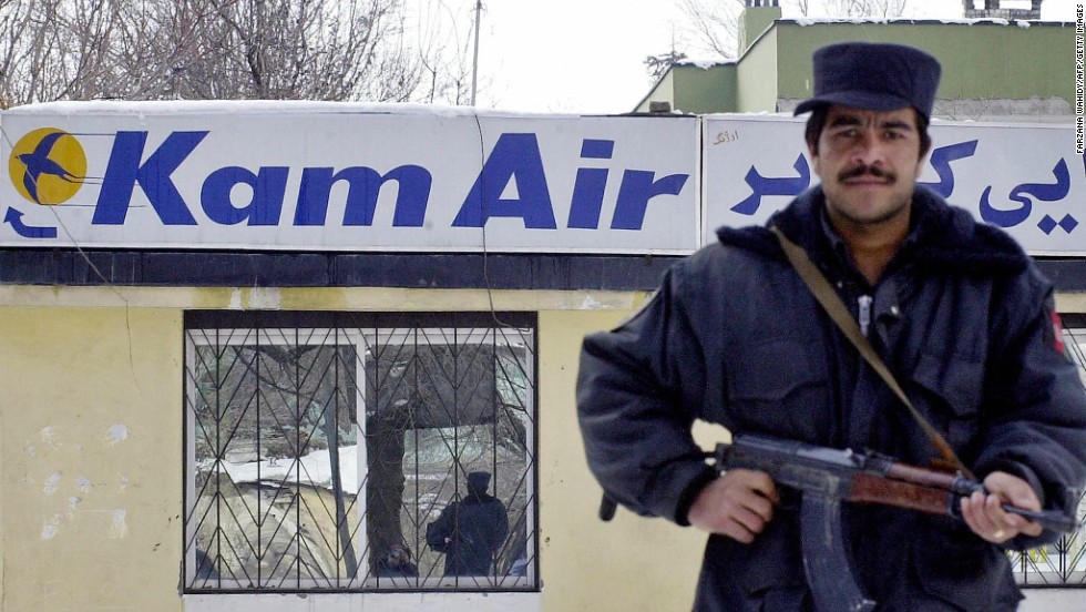 Afghanistan's Kam Air was one of three airlines given an inglorious one-star rating.