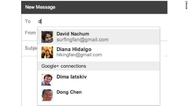 Gmail users will be able to limit the Google+ users who can contact them to just their Circles, or no one at all.
