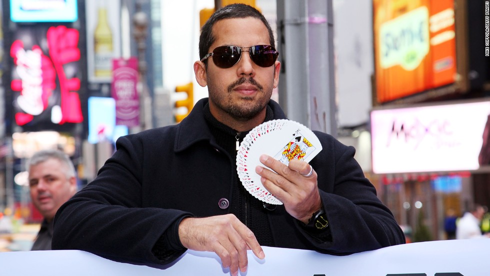 Magician David Blaine was born in Brooklyn, New York, and is of Puerto Rican and Russian descent.