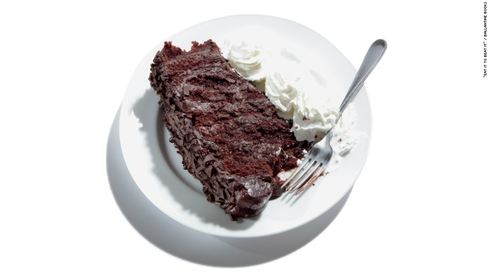 """<strong>Worst restaurant dessert:</strong> Cheesecake Factory's chocolate tower truffle cake has 1,679 calories, 49 grams saturated fat, 970 milligrams sodium and 206 grams carbs. """"'Trouble cake' is more like it,"""" says Zinczenko. """"This date-topper has as many calories as three Big Macs."""" The Cheesecake Factory told CNN: """"With more than 250 menu items and more than 50 legendary desserts, The Cheesecake Factory has always been about choices. Many of our guests come in and want to celebrate without being concerned about calories. Others want to share their meals and their desserts. We love it when guests share -- that's a great sign that our portions are generous -- and a large percentage of our guests take home leftovers to enjoy the next day. For our calorie-conscious guests, we have our award-winning SkinnyLicious® Menu, featuring more than 50 delicious choices with 590 calories or less -- which is actually larger than many restaurants' entire menus. We believe there is truly something for everyone on our menu."""""""