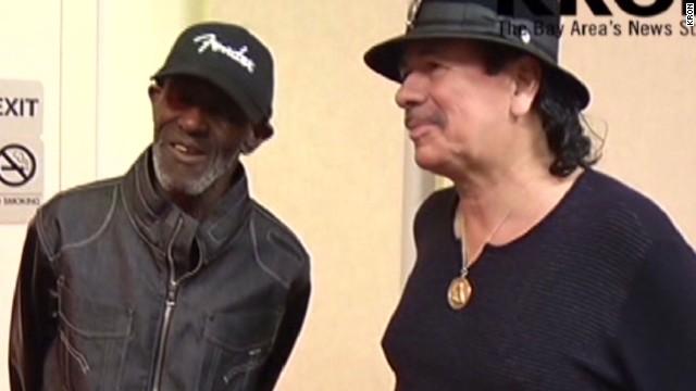 dnt ca carlos santana reunites homeless ex bandmate_00012802.jpg